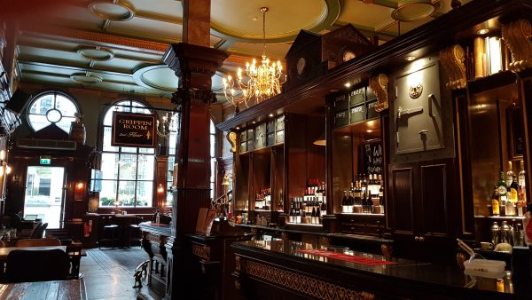 The Counting House side of bar